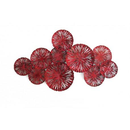 Tableau Deco Design Metal.Tableau Feu D Artifice